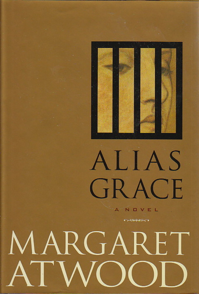 Book cover picture of Atwood, Margaret ALIAS GRACE New York: Doubleday, 1996.