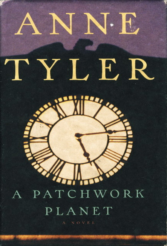 Book cover picture of Tyler, Anne. PATCHWORK PLANET. New York: Alfred A. Knopf, 1998.