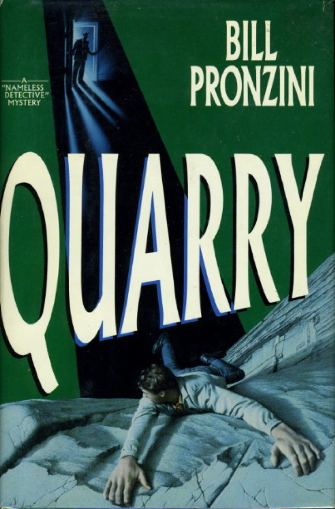 Book cover picture of Pronzini, Bill. QUARRY. New York: Delacorte, (1992.)