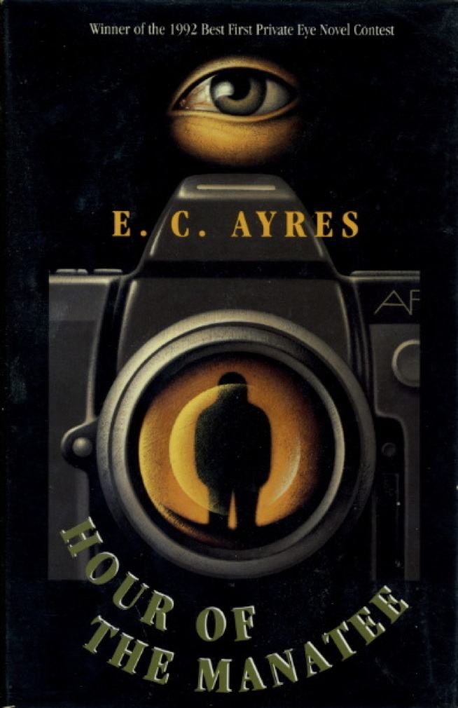 Book cover picture of Ayres, E. C. HOUR OF THE MANATEE. New York: St Martin's, 1994.