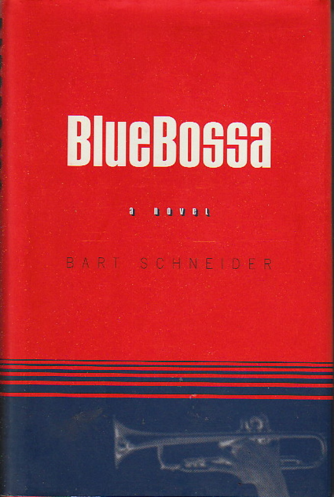 Book cover picture of Schneider, Bart. BLUE BOSSA. New York: Viking, 1998.