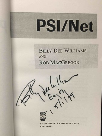 PSI/NET. by Williams, Billy Dee and MacGregor, Rob.