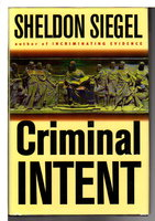 CRIMINAL INTENT. by Siegel, Sheldon.
