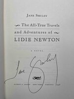 THE ALL-TRUE TRAVELS AND ADVENTURES OF LIDIE NEWTON by Smiley, Jane