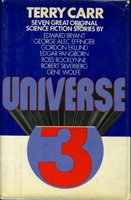 UNIVERSE 3. by Carr, Terry, editor (Robert Silverberg and Gene Wolfe, signed)