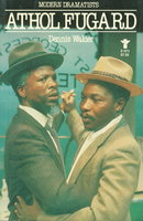 ATHOL FUGARD: Grove Press Modern Dramatists. by [Fugard, Athol] Walder, Dennis.