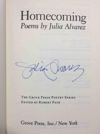 HOMECOMING. by Alvarez, Julia.