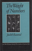 THE WEIGHT OF NUMBERS. by Baumel, Judith.