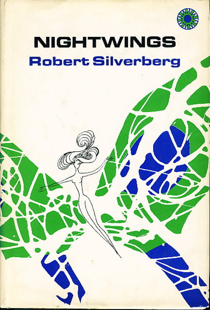 Book cover picture of Silverberg, Robert.  NIGHTWINGS. New York: Walker, (1970.)
