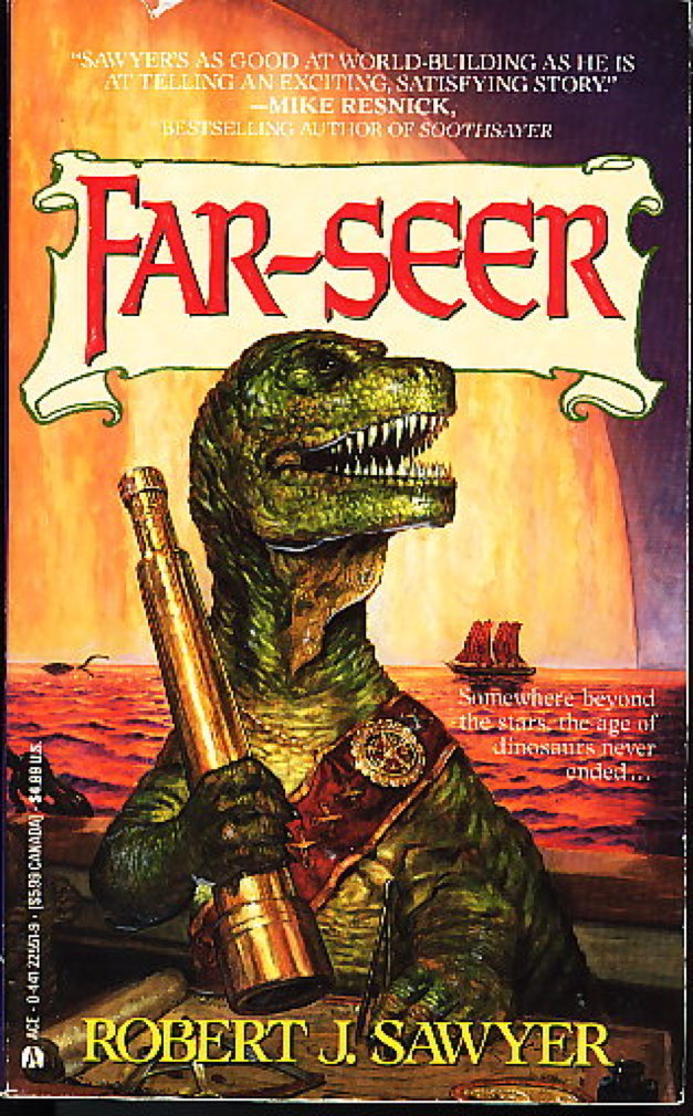 Book cover picture of Sawyer, Robert J. FAR-SEER New York: Ace Books, 1992