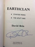 EARTHCLAN: Startide Rising; The Uplift War. by Brin, David.