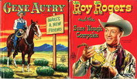 GENE AUTRY MAKES A NEW FRIEND and ROY ROGERS AND THE SURE 'NOUGH COWPOKE (2 book set). by Beecher, Elizabeth