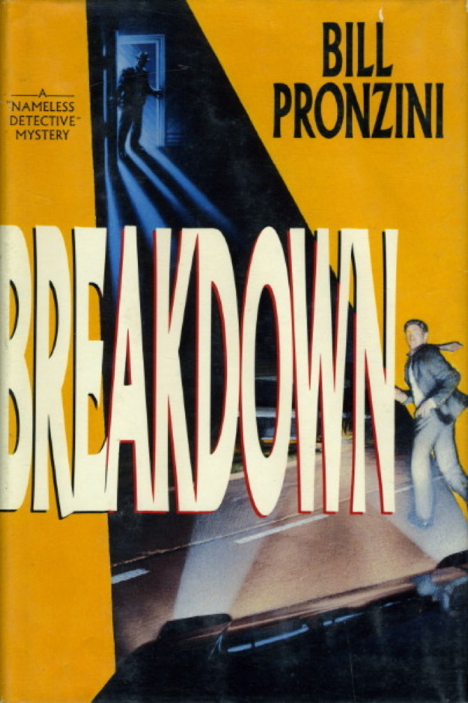 Book cover picture of Pronzini, Bill BREAKDOWN New York: Delacorte, 1991.