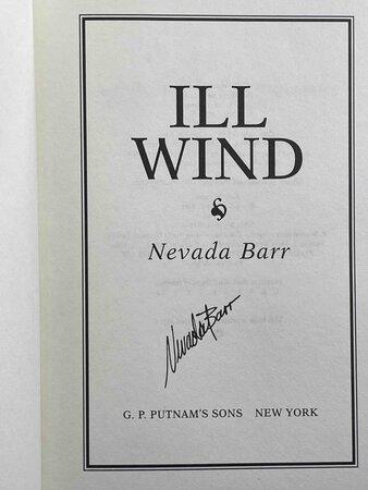 ILL WIND by Barr, Nevada.