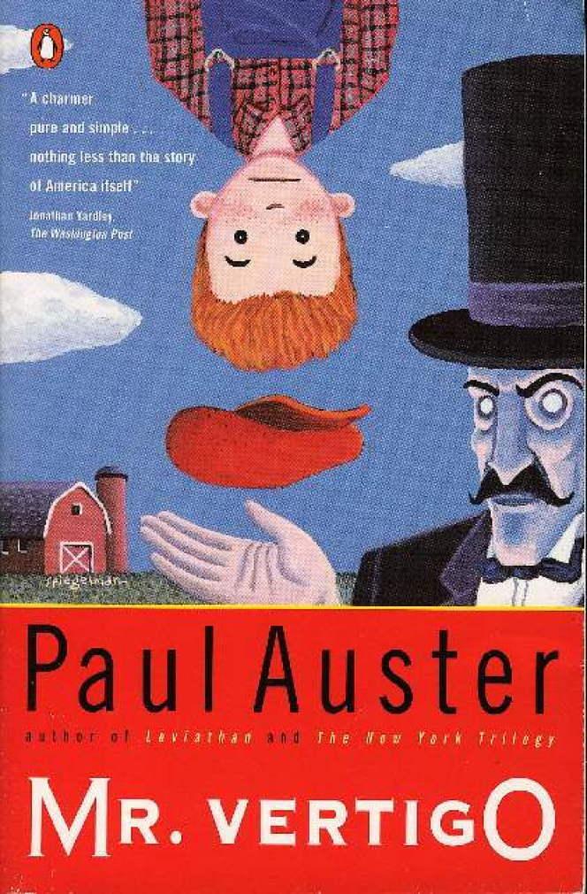 Book cover picture of Auster, Paul. MR. VERTIGO. New York: Penguin, (1994.)