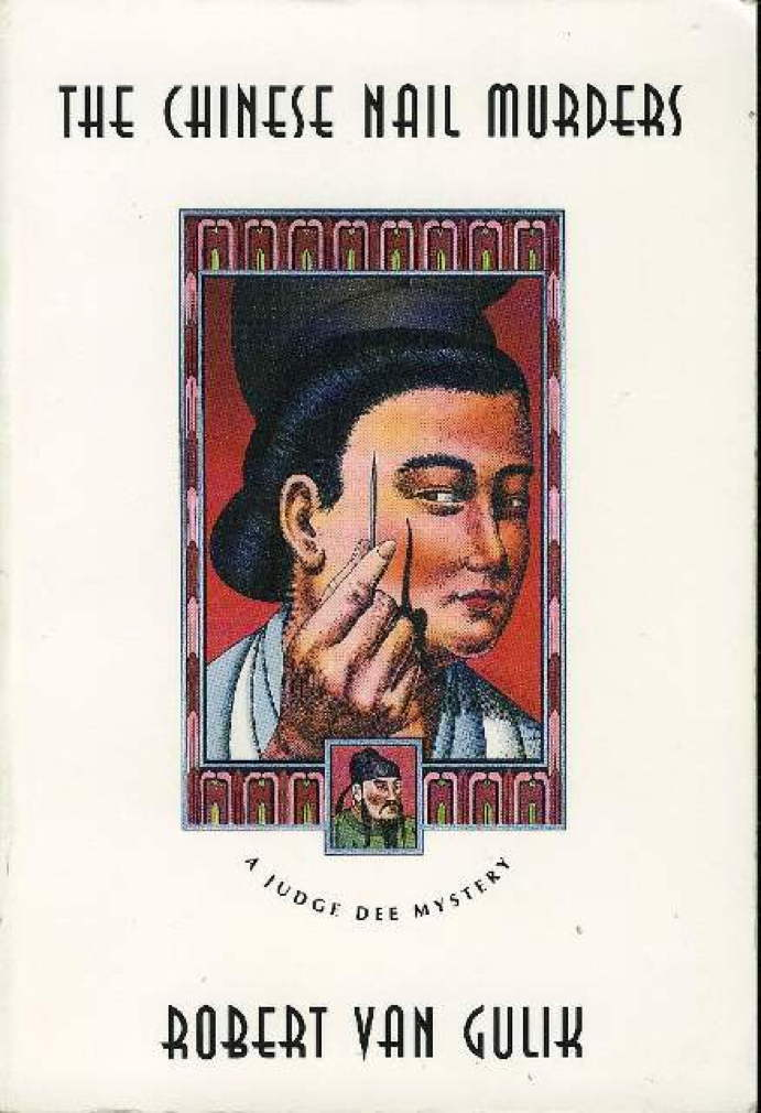 Book cover picture of van Gulik, Robert (1910 - 1967.) THE CHINESE NAIL MURDERS. Chicago: University of Chicago Press, (1976.)