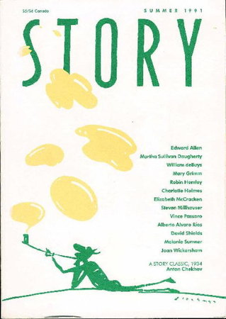 STORY [Magazine] Summer 1991. by (Rios, Alberto Alvaros, signed; Steven Millhauser, Mary Grimm, Elizabeth McCracken and others, contributors) Rosenthal, Lois, editor.