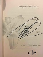 RHAPSODY IN PLAIN YELLOW: Poems. by Chin, Marilyn