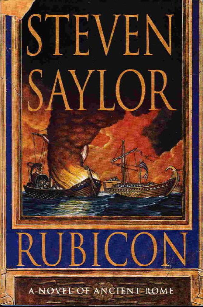 Book cover picture of Saylor, Steven. RUBICON. New York: St Martin's, (1999.)