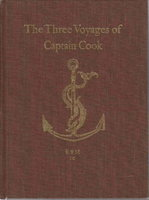 THE THREE VOYAGES OF CAPTAIN COOK. by Paluka, Frank.