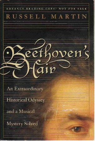 BEETHOVEN'S HAIR. by Russell, Martin.