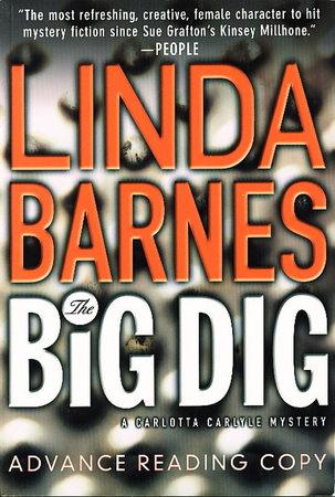 THE BIG DIG. by Barnes, Linda.