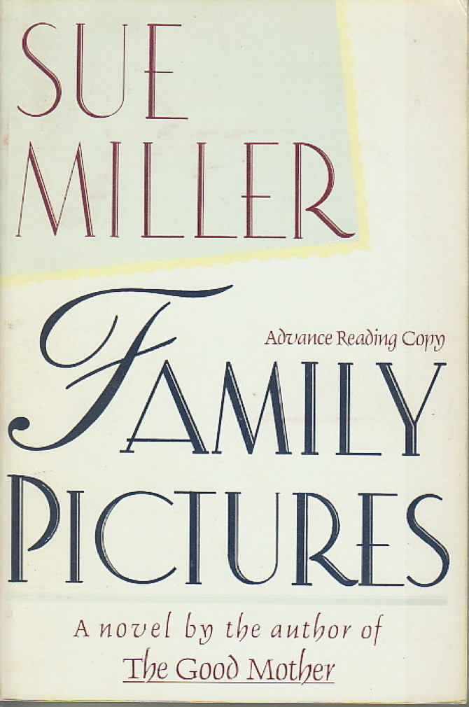 Book cover picture of Miller, Sue. FAMILY PICTURES. New York: Harper & Row, (1990.)