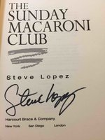 THE SUNDAY MACARONI CLUB. by Lopez, Steve