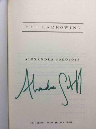 THE HARROWING. by Sokoloff, Alexandra.