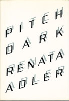 PITCH DARK. by Adler, Renata.