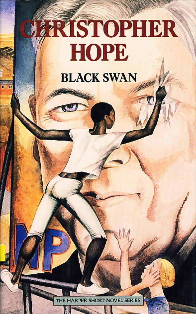 Book cover picture of Hope, Christopher. BLACK SWAN. New York: Harper & Row, (1987.)
