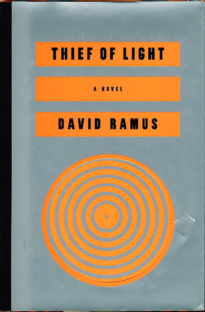 Book cover picture of Ramus, David THIEF OF LIGHT New York: HarperCollins, 1995.
