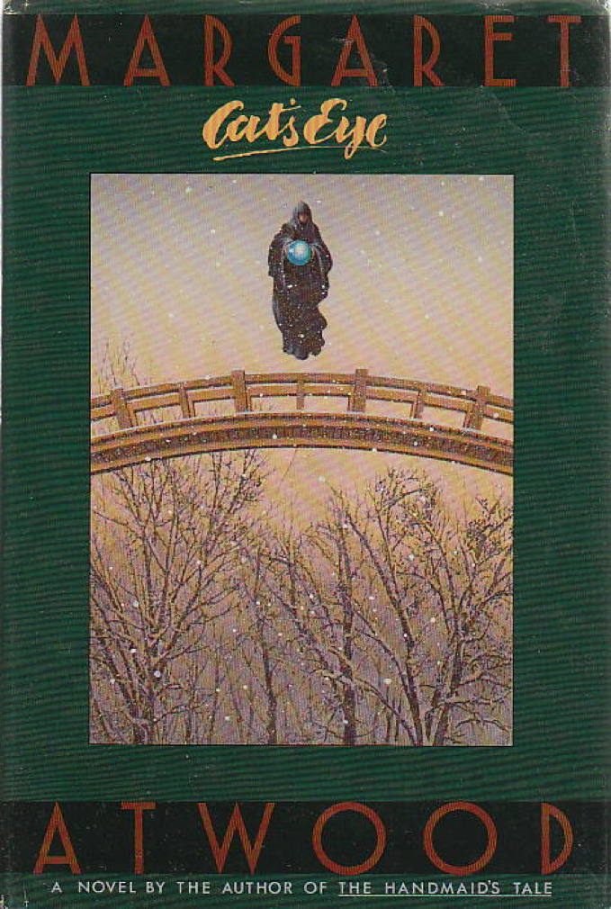 Book cover picture of Atwood, Margaret CAT'S EYE New York: Doubleday, 1989.