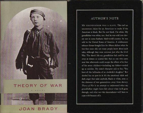 THEORY OF WAR. by Brady, Joan.