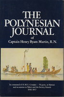 THE POLYNESIAN JOURNAL OF CAPTAIN HENRY BYAN MARTIN, R.N. by Martin, Captain Henry Byan, R.N.