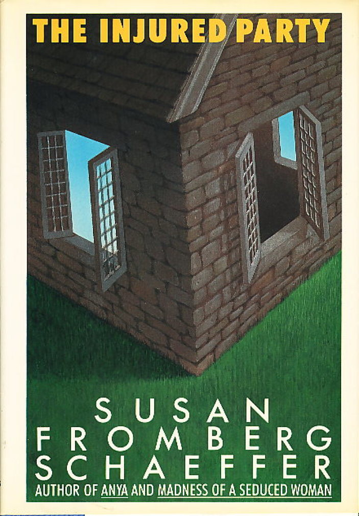 Book cover picture of Schaeffer, Susan Fromberg. THE INJURED PARTY. New York: St Martin's, (1986.)
