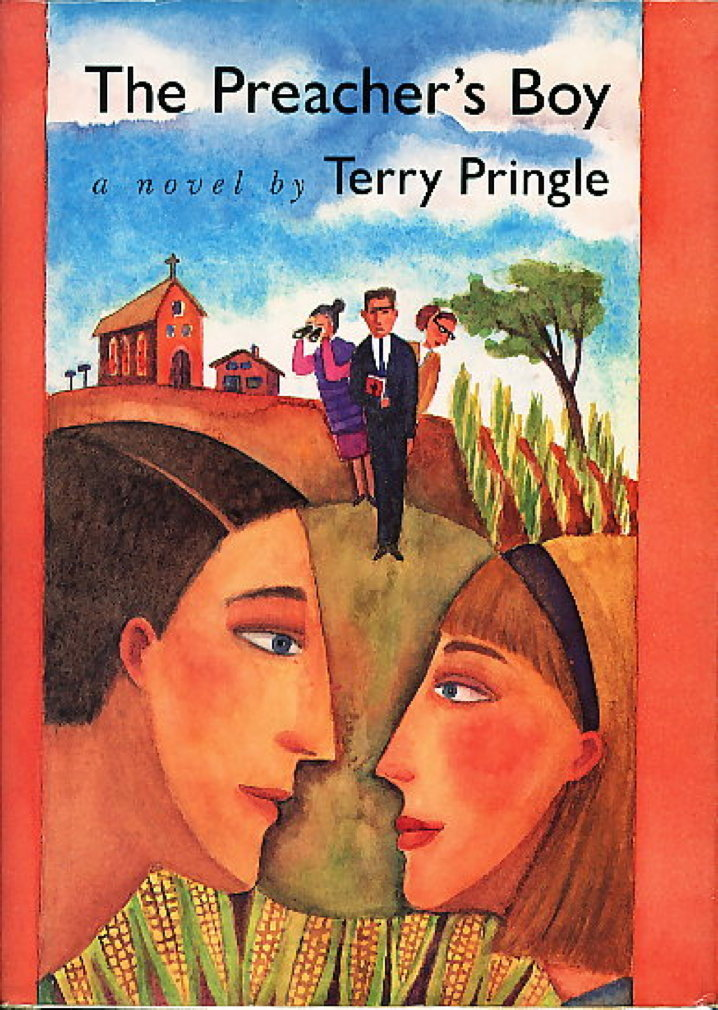 Book cover picture of Pringle, Terry. THE PREACHER'S BOY. Chapel Hill, NC: Algonquin Books, 1988.
