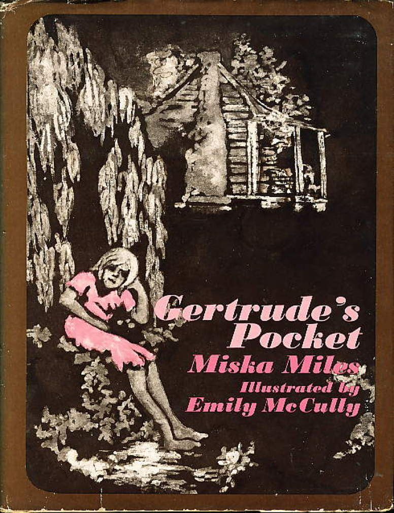 Book cover picture of Miles, Miska (illustrated by Emily McCully.) GERTRUDE'S POCKET. Boston: Little Brown, (1970.)