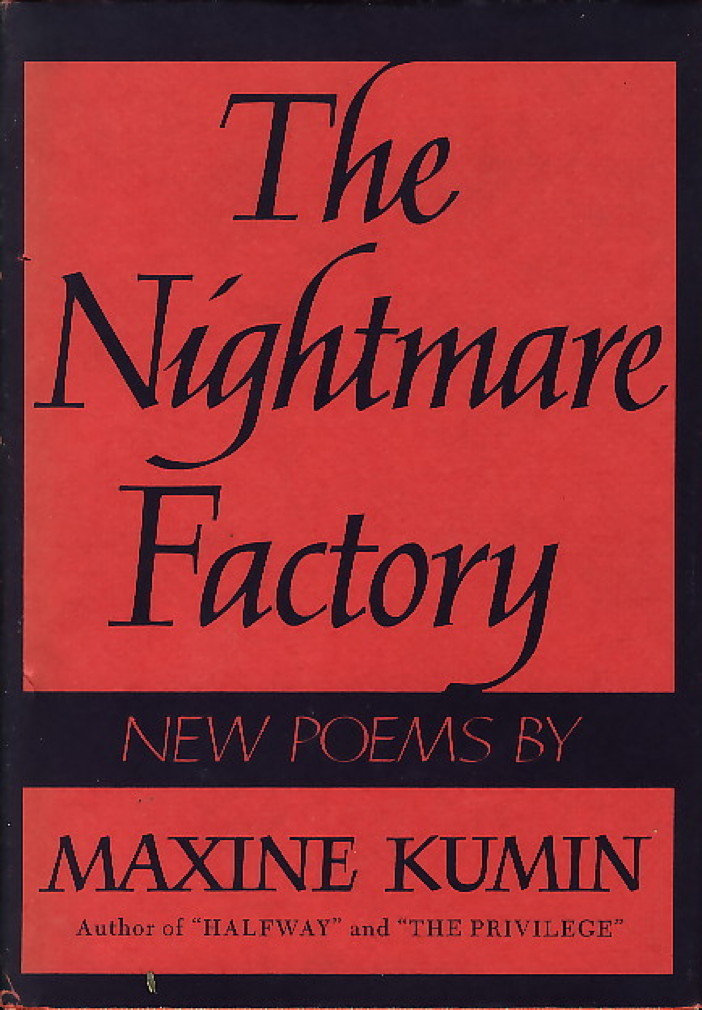 The Nightmare Factory, Kumin, Maxine