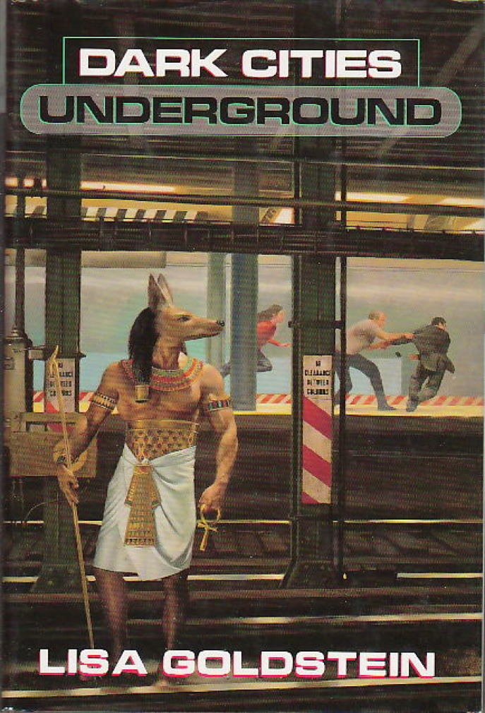 Book cover picture of Goldstein, Lisa DARK CITIES UNDERGROUND New York: TOR, (1999.)