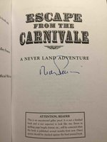 ESCAPE FROM THE CARNIVALE: A Never Land Book. by Barry, Dave and Ridley Pearson.