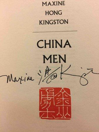 CHINA MEN. by Kingston, Maxine Hong.