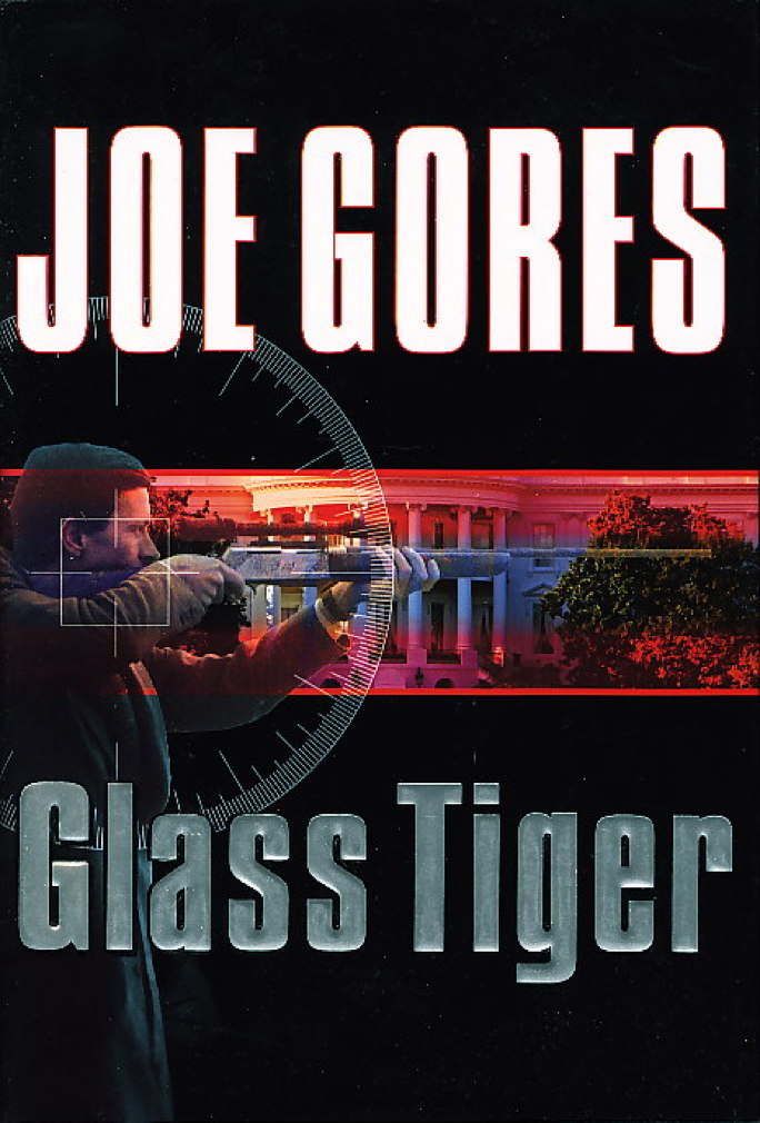 Book cover picture of Gores, Joe. GLASS TIGER. New York: Harcourt, Inc., (2006.)