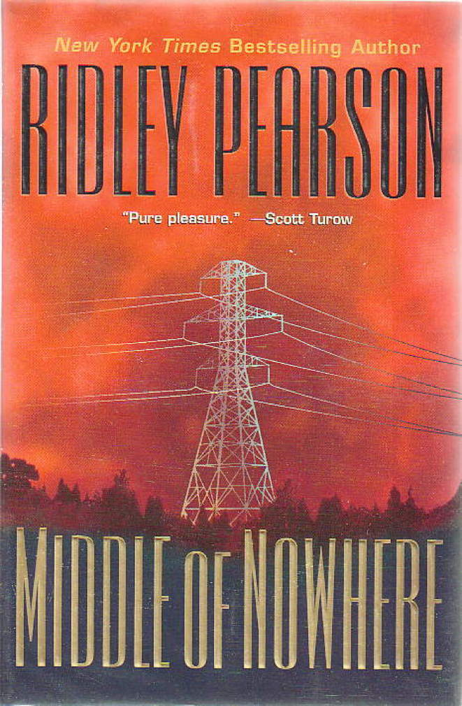 Book cover picture of Pearson, Ridley. MIDDLE OF NOWHERE. New York: Hyperion, (2000.)