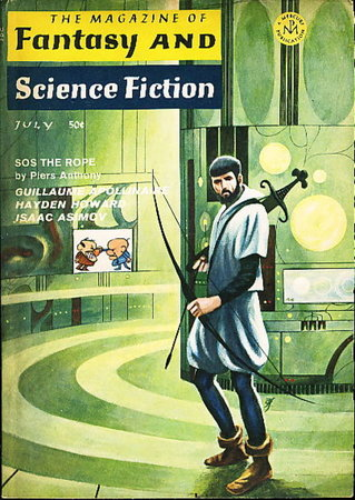 THE PSYCHEDELIC CHILDREN in The Magazine of Fantasy and Science Fiction, July 1968; Volume 35, Number 1. by Koontz, Dean R.; Piers Anthony, Isaac Asimov, and others.