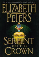 THE SERPENT ON THE CROWN. by Peters, Elizabeth [Barbara Mertz].