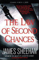 THE LAW OF SECOND CHANCES. by Sheehan, James.