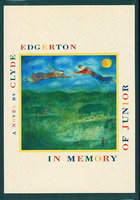 IN MEMORY OF JUNIOR. by Edgerton, Clyde