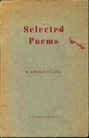 SELECTED POEMS. by Fitzell, Lincoln.
