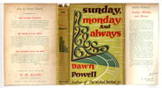 Another image of SUNDAY, MONDAY AND ALWAYS. by Powell, Dawn (1896-1965.)